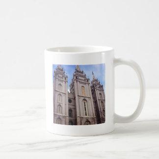 Salt Lake City Temple Basic White Mug