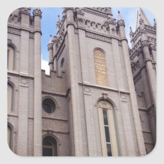 Salt Lake City Temple Square Sticker