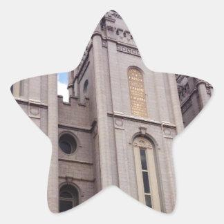 Salt Lake City Temple Star Sticker