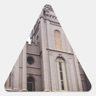 Salt Lake City Temple Triangle Sticker