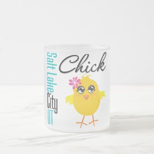 Salt Lake City UT Chick Coffee Mugs