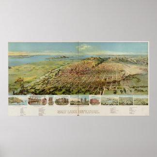 Salt Lake City Utah 1891 Posters