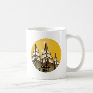 Salt Lake City, Utah Basic White Mug