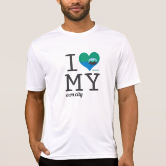 Salt Lake City Utah I love my own city T Shirt