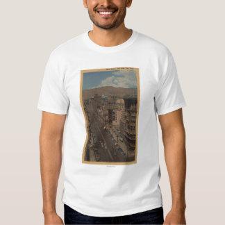 Salt Lake City, Utah - View of Main St. Tshirt