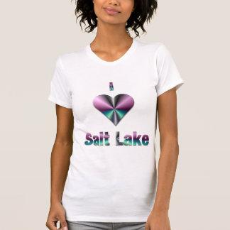 Salt Lake -- Purple & Turquoise Tee Shirt