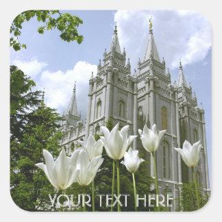 Salt Lake Sity, LDS Temple Square Sticker