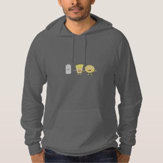 Salt, lemon and tequila hoodie