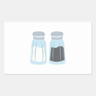 Salt & Pepper Rectangular Sticker