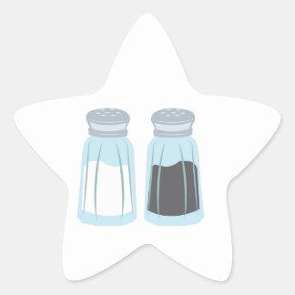 Salt & Pepper Star Sticker