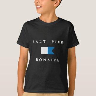 Salt Pier Bonaire Alpha Dive Flag Tee Shirts