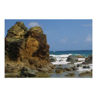 Salt River Caribbean of St. Croix Poster