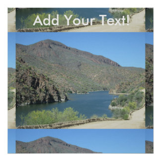 Salt River View Apache Trail Poster