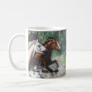 Salt River Wild Horses Basic White Mug