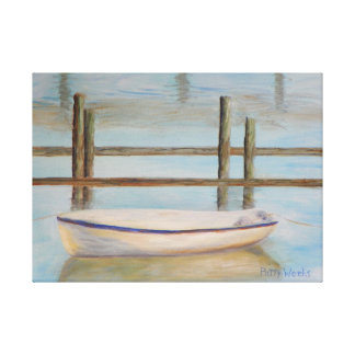 SALT RUN MORNING Wrapped Canvas Gallery Wrapped Canvas
