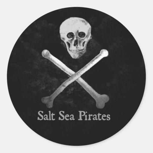 Salt Sea Pirates Sticker