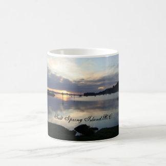 Salt Spring Island, B.C. Basic White Mug