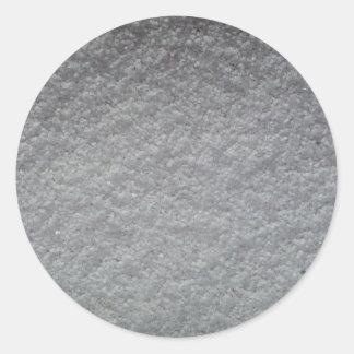 Salt Round Sticker
