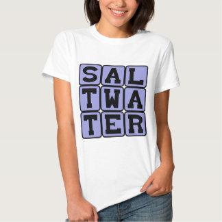 Salt Water, Description of the Ocean T-shirt