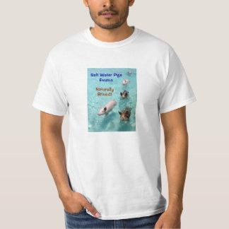 Salt Water Pigs- Exuma- Naturally Brined! T-Shirt
