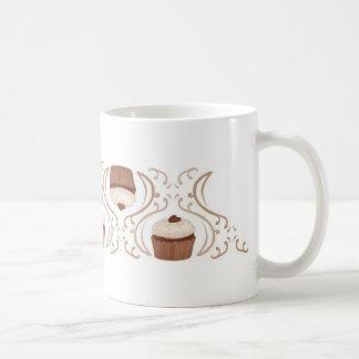Salted Caramel Cupcake Basic White Mug
