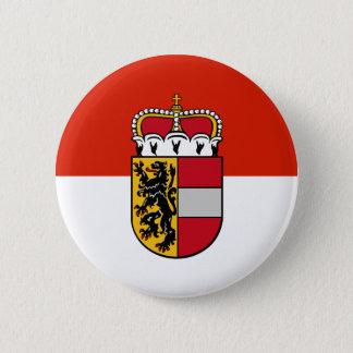Salzburg, Austria flag 6 Cm Round Badge