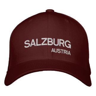 Salzburg, Austria* Maroon Custom Hat
