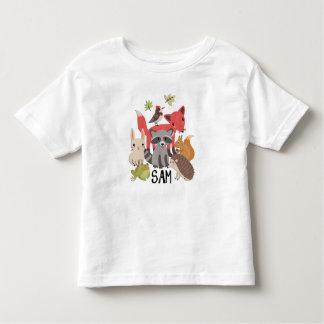 "Sam ""animals in my yard"" toddler T-Shirt"