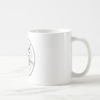 Samael Lilith Goat Pentagram Coffee Mug