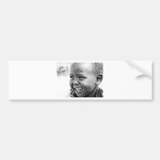 Samburu Kid Bumper Sticker