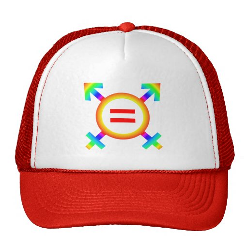same-sex marriage mesh hats