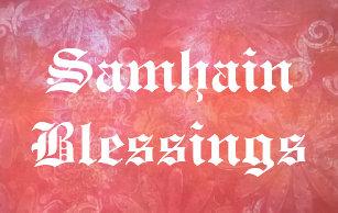 Samhain blessings cards zazzle nz samhain blessings card m4hsunfo