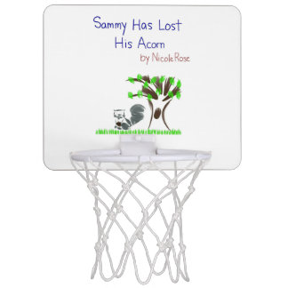 Sammy Has Lost His Acorn mini basketbll hoop