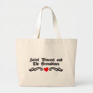 Samoa Tattoo Style Jumbo Tote Bag