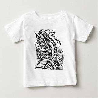 SAMOA Tribal Island Design Baby T-Shirt