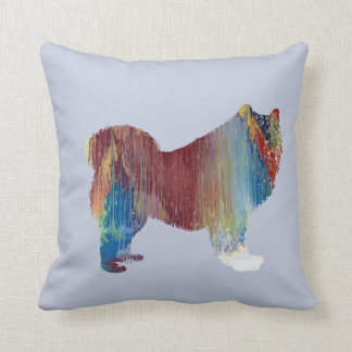 Samoyed art cushion