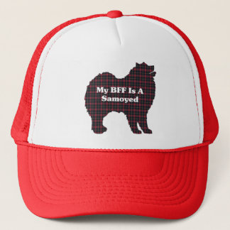Samoyed BFF Gifts Trucker Hat