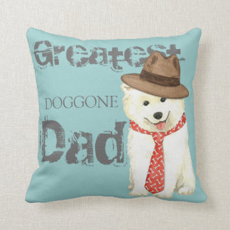 Samoyed Dad Cushion