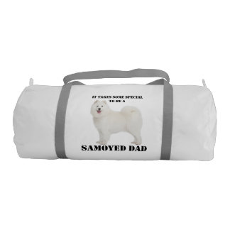 Samoyed Dad Duffle Bag Gym Duffel Bag