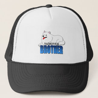 Samoyed Dog Brother Trucker Hat