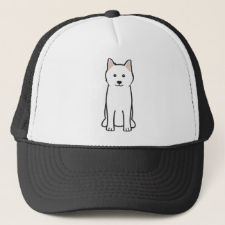 Samoyed Dog Cartoon Trucker Hat