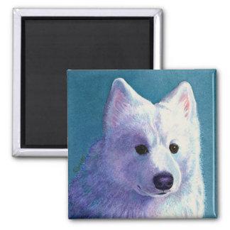 """Samoyed Dog Magnet - """"Buddha"""""""