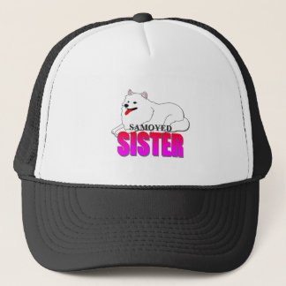 Samoyed Dog Sister Trucker Hat