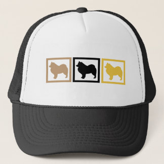 Samoyed Squares Trucker Hat