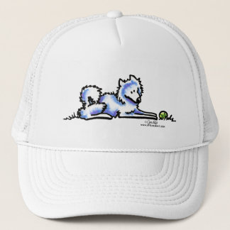 Samoyed Time Out Trucker Hat