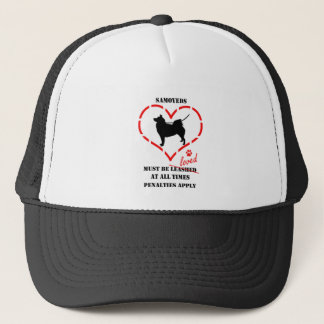 Samoyeds Must Be Loved Trucker Hat