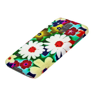 Samsung Airbrush Flower Collage Galaxy S5 Cover