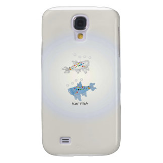 Samsung Galaxy S4, Barely There With Opal Koi Fish Galaxy S4 Case