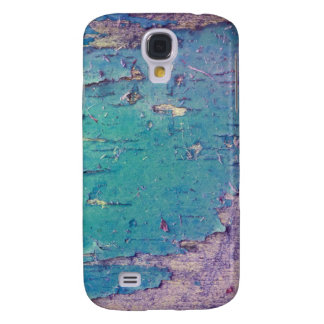 Samsung Galaxy S4 Blue/Purple Chipping Paint Case