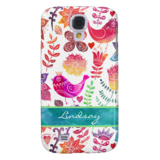Samsung Galaxy S4 Case | Whimsical Watercolor